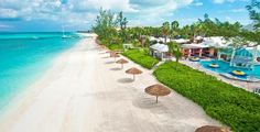 """Beaches Turks  Caicos   """"Scuba diving, horseback riding, sunbathing… take your pick. """"Provo"""" offers plenty for the happy couple to do, including picture-perfect coastlines to walk along, hand in hand. The island itself is relatively tranquil; try Malcolm Beach to get even further away from crowds.""""  - http://www.aluxurytravelblog.com/2014/02/25/top-1-islands-in-the-world/"""