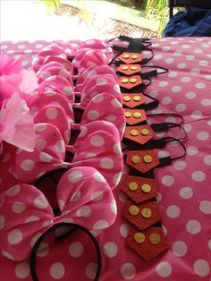 Minnie Mouse Birthday Decorations, Minnie Mouse Balloons, Minnie Mouse Theme Party, Mickey Mouse Clubhouse Birthday, Pink Minnie, Mickey Birthday, Mickey Party, Mouse Parties, 2nd Birthday Parties