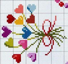 Embroidery Heart Tiny Ideas For 2019 Tiny Cross Stitch, Cross Stitch Boards, Cross Stitch Heart, Cross Stitch Flowers, Cross Stitch Designs, Cross Stitch Patterns, Embroidery Hearts, Cross Stitch Embroidery, Embroidery Patterns