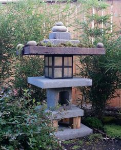 Easy Garden Pagoda: This is my first Instructable and I look forward to all of your comments.I wanted to add a garden pagoda to our bamboo garden but was amazed by how much they cost.I decided to… Zen Garden Design, Japanese Garden Design, Chinese Garden, Garden Art, Landscape Design, Small Japanese Garden, Flower Landscape, Japanese Gardens, Contemporary Landscape