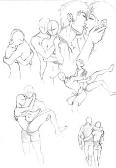Couples poses 1 by shinsengumi77 on DeviantArt