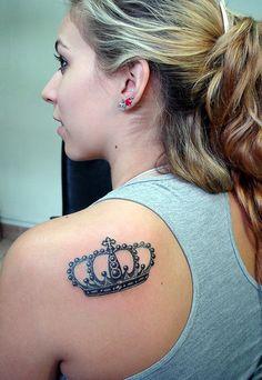 Corona de Reina - tribaltattoocr
