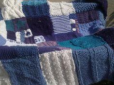 Ravelry: The Learn to Knit Afghan/Blanket pattern by Elizabeth Felgate