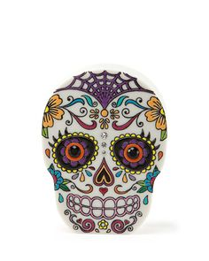 Calavera Skull Clutch Bag by Charlotte Olympia at Neiman Marcus.