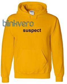 Suspect hoodie girls and mens hoodies unisex adult