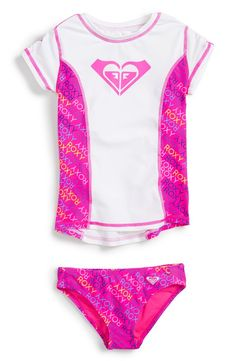 65dcd07d4b094 Rashguard & Bottoms Set (Toddler Girls & Little Girls) Kids Checklist, Baby  Swimsuit