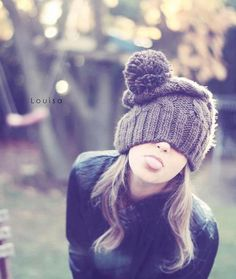 Why must you look so perfect? Whenever I wear my beanie I look like a retarded black bear!