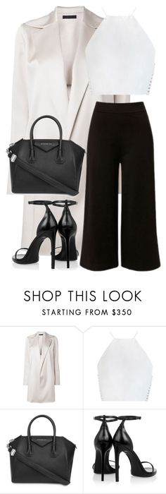 """Untitled #2792"" by elenaday on Polyvore featuring The Row, Zimmermann, Givenchy and Yves Saint Laurent"