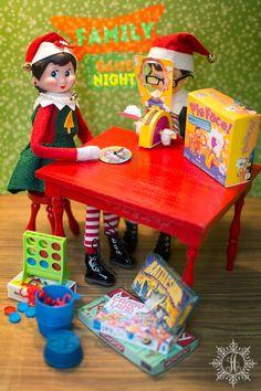 THE ELF ON THE SHELF~ELF FAMILY GAME NIGHT