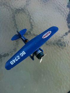 "12"" metal airplane"