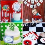 Birthday party ideas for boys: pirate, golf, cowboy, and candy