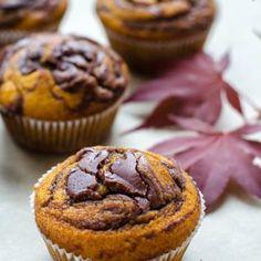 { čokoládovo } čokoládové muffiny Biscotti, Nutella, Quiche, Food And Drink, Cookies, Breakfast, Cheesecake, Diet, Crack Crackers