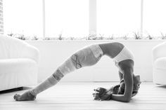 Yoga, Photography, Black and White