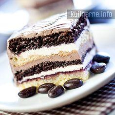 Ciasto z kremem   Przepisy kulinarne ze zdjęciami