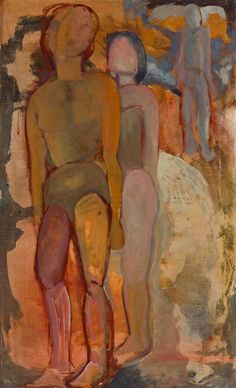 Three figures. Hugo Damian 1916-1979