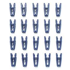 Joy Mangano Huggable Hangers® Set of 20 Finger Clips from hsn.com