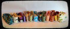 A variety of custom headbands. (Find me on Facebook at Ahuva Penina Designs).