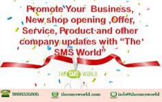 Promote and Grab Customers through Bulk SMS Marketing. #thesmsworld #bulksms #smsgateway #apisms #otpsms #smsreseller
