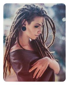 104 Ways to Style Your Dreadlocks In 2018 - Kids and parenting Dreads Styles, Dreadlock Styles, Hair Styles, Dreadlock Hairstyles, Braided Hairstyles, Belle Nana, Dreadlocks Girl, Rasta Hair, Beautiful Dreadlocks