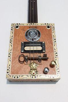 Nigel McTrustry Cigar Box Guitar.