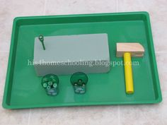 H is for Homeschooling: St. Patrick's Day Trays