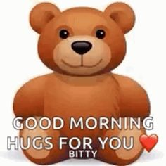 The perfect Teddy Hug BearHug Animated GIF for your conversation. Discover and Share the best GIFs on Tenor. Morning Hugs, Good Morning Wishes, Good Morning Quotes, Morning Sayings, Hugs And Kisses Quotes, Hug Quotes, Friend Quotes, Life Quotes, Cute Good Morning Gif