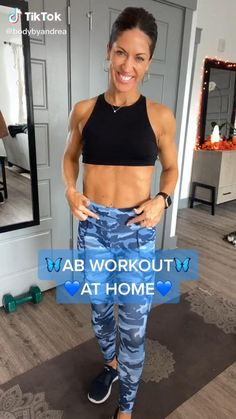 Lower Belly Workout, Slim Waist Workout, Workout For Flat Stomach, Butt Workout, Easy Workouts, At Home Workouts, Fitness Workout For Women, Workout Videos, Natural Herbs