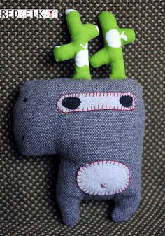 RED ELK. New Toys! by electromanana, via Flickr