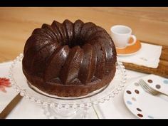 Cómo hacer un Bizcocho de Chocolate Húmedo Fácil y rápido - Receta básica