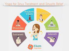 Yoga for Sinus Treatment and Sinusitis Relief  #yogaposes #yogatreatment #yogaclass #yogini #sinus #sinusitis #yogis #nasalproblem #health #fitness #yogateachers #kapalbhati #jalaneti #sutraneti #yogis #ayurveda #sinusproblem