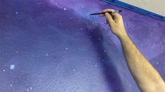 Ideas Wall Painting Galaxy Kids Rooms For 2019 – Galaxy Art Creative Wall Painting, Diy Wall Painting, Galaxy Painting, Kids Wall Murals, Murals For Kids, Art Wall Kids, Kids Room Paint, Kids Rooms, Galaxy Room