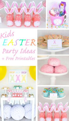 Free Easter Printables and Party Ideas