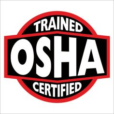fdbca539ceb65 OSHA Trained   Certified Hard Hat Decal Helmet Sticker Label USA Toolbox  Safety for sale online