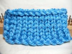 New Cable Cast On for loom knitters
