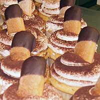 Godfather cupcakes from Oakmont Bakery...YUM!!!!!