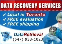 Data Retrieval Toronto  toronto@dataretrieval.com    510 Champagne Drive  Toronto, ON M3J 2T9  (647) 933-1023  http://www.dataretrieval.ca/data-recovery-toronto/