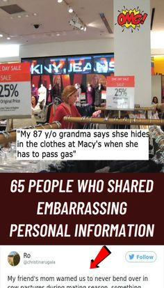 #people #shared #embarrassing #personal #information