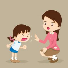 Teacher have worry and Rampage angry girl. Kids Cartoon Characters, Cartoon Faces, Teach English To Kids, Sad Child, Angry Girl, Teaching Manners, Powerpoint Background Design, Learning Arabic, Motion Design