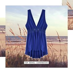 #Top #Halter #Jersey #Beach #MustHave #Crochet #Navy #Blue #Summer #Style #Fashion #BiographyMx