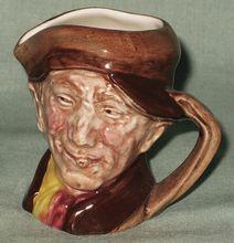 Royal Doulton Miniature Toby Jug Arry Harry