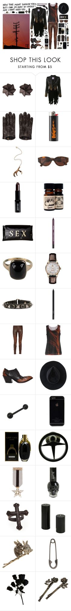 """""""show me your power"""" by nothingisnormal ❤ liked on Polyvore featuring Edge Only, Moschino, Bottega Veneta, Pamela Love, RetroSuperFuture, Lord & Berry, Vivienne Westwood, Valentino, xO Design and NARS Cosmetics"""