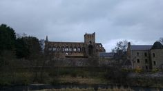 You can see straight through Jedburgh Abbey, in Roxburghshire, Scotland
