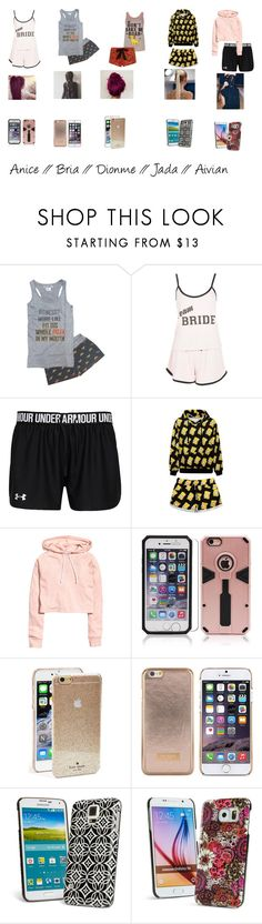 """Guardian Angels tour bus time"" by the-guardian-angels on Polyvore featuring Boohoo, Disney, WithChic, H&M, Kate Spade, Ted Baker, Vera Bradley and tour"