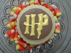 #HarryPotter cookies from the #ChestnutHillPA Harry Potter Festival.