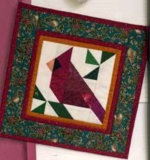 Image result for cardinal quilt block