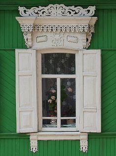 Window. Fretwork