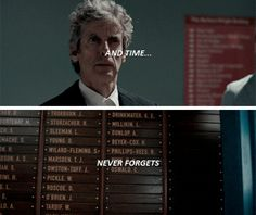This Scene was more heartbreaking than all deaths! Doctor Who 12, 13th Doctor, Twelfth Doctor, Bbc Class, Blue Box, How To Run Faster, Tardis, Mad Men, Best Tv