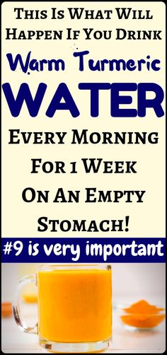 The Best Of Health and Fitness: What Happens If You Drink Warm Turmeric Water Ev… The Best Of Health and Fitness: What Happens If You Drink Warm Turmeric Water Every Morning For 7 Days On Empty Stomach – weight loss and lose weight tips! Calendula Benefits, Matcha Benefits, Lemon Benefits, Coconut Health Benefits, Health Diet, Health Fitness, Turmeric Water, Turmeric Pills, Tumeric Hair