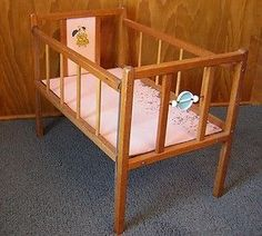 1000 Images About 1950s Doll Cribs On Pinterest Baby