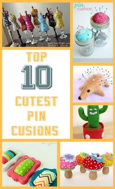 diy home sweet home: 10 Cutest Pin Cushions Ever